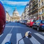 Recorriendo París en moto con Sidecar 1