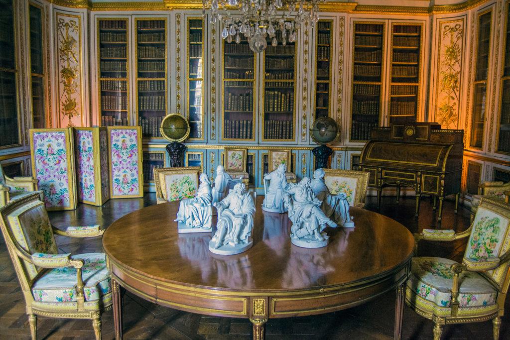 Biblioteca personal del rey – Aposentos privados del Palacio de Versalles