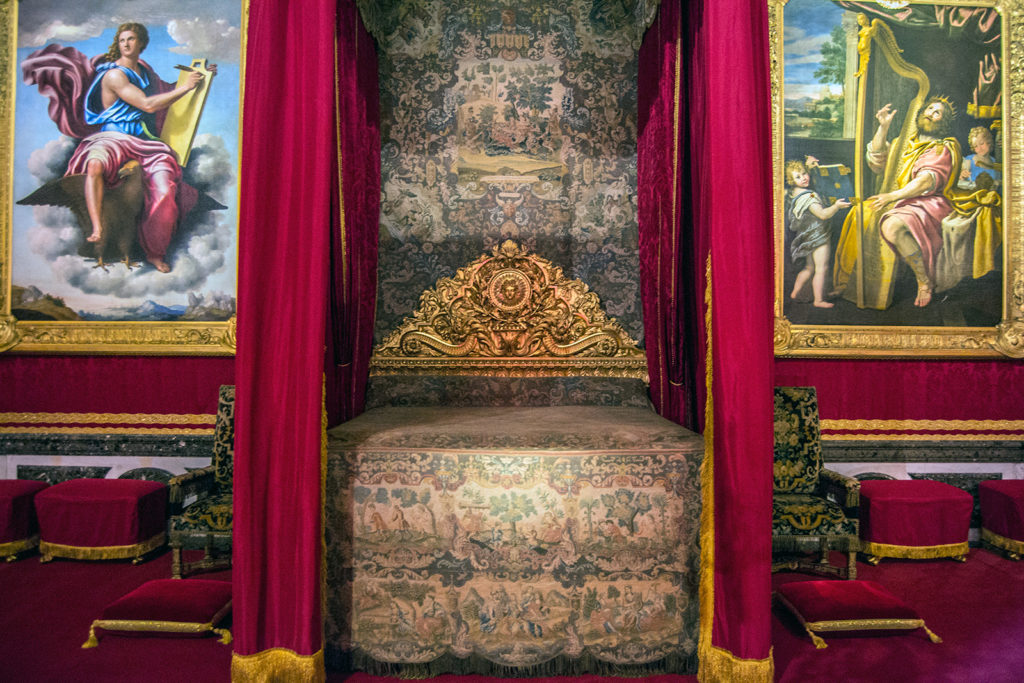 Cámara del rey – Aposentos privados del Palacio de Versalles