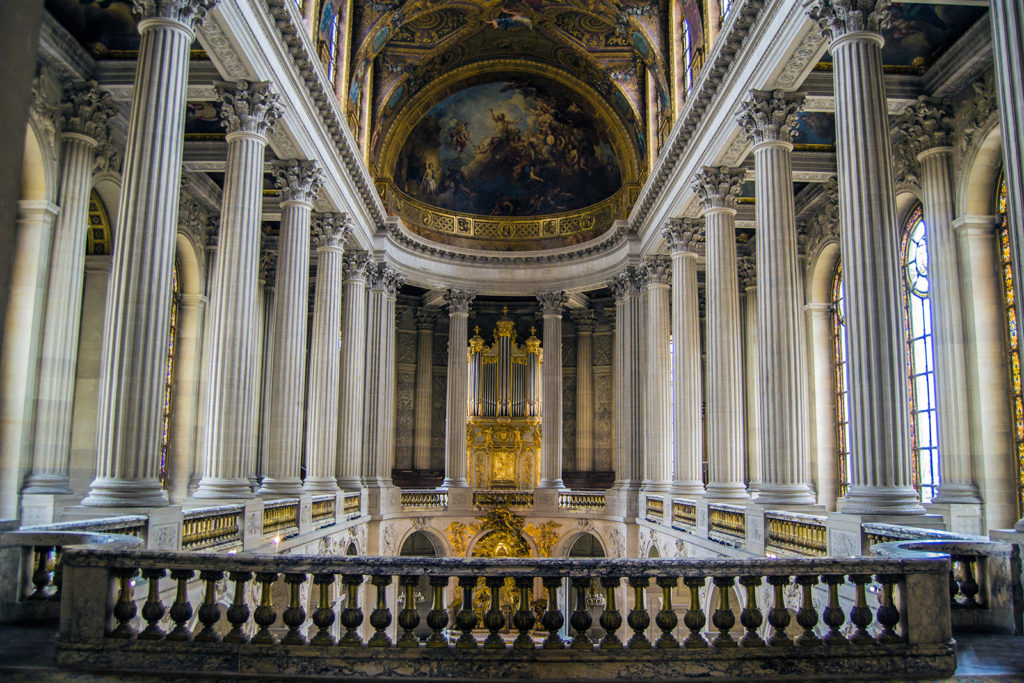 Chapelle Royal – Aposentos privados del Palacio de Versalles