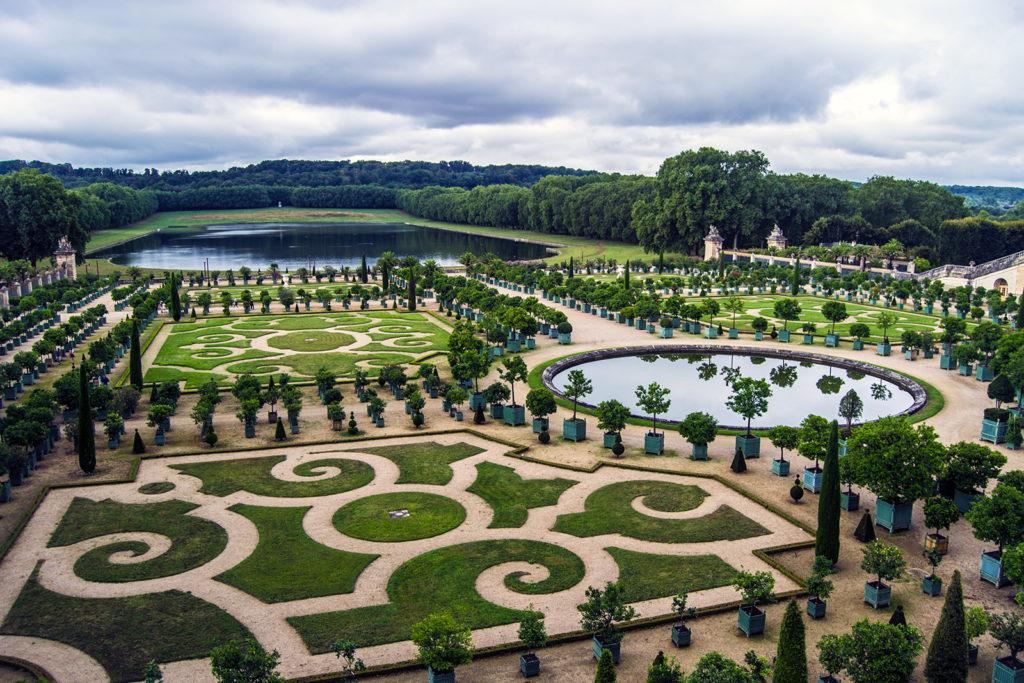 El Parterre de La Orangerie – Palacio de Versalles desde París