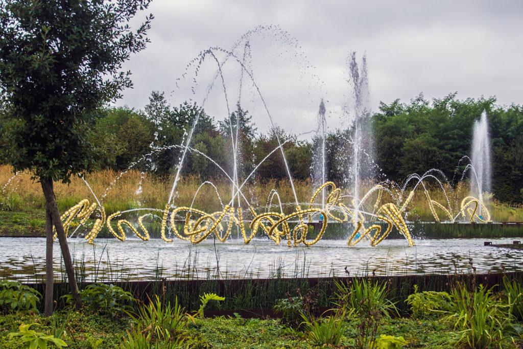 Fuente en los Jardines de Versalles – Palacio de Versalles desde París 3