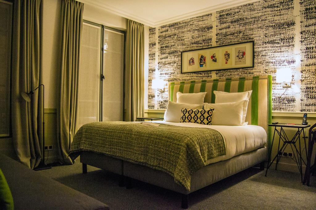 Nuestra habitación en el Hotel Adèle & Jules -Versalles desde París