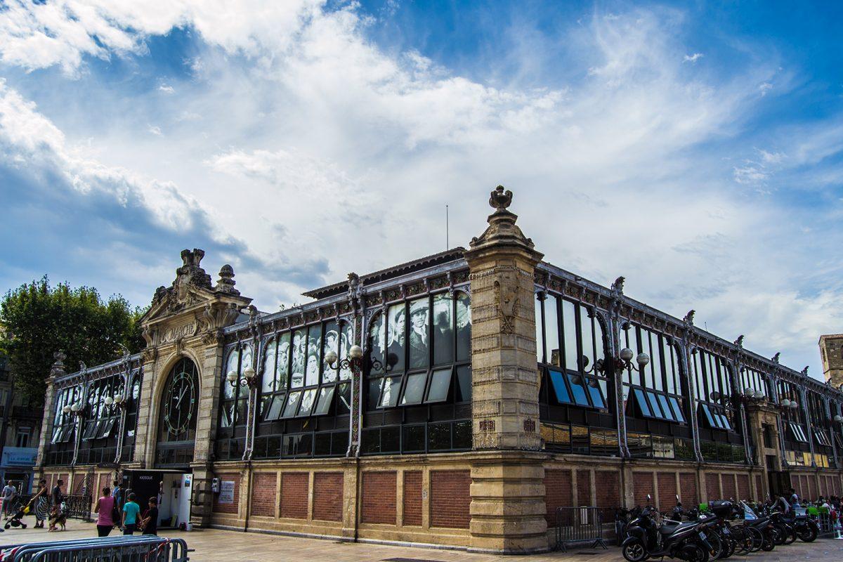 Mercado Les Halles - qué ver en Narbona
