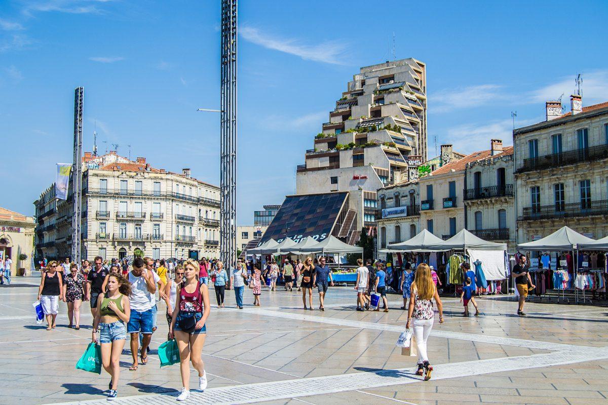 Plaza de la Comedia Montpellier - qué ver en Montpellier
