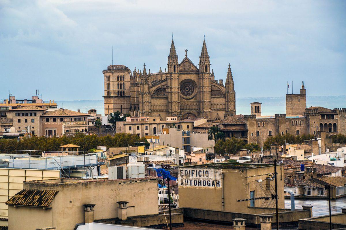 Catedral desde el hotel Nakar - qué ver en Mallorca