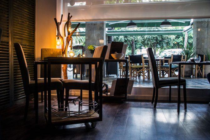 Mesa restaurante Adrian Quetglas -Restaurantes Mallorca