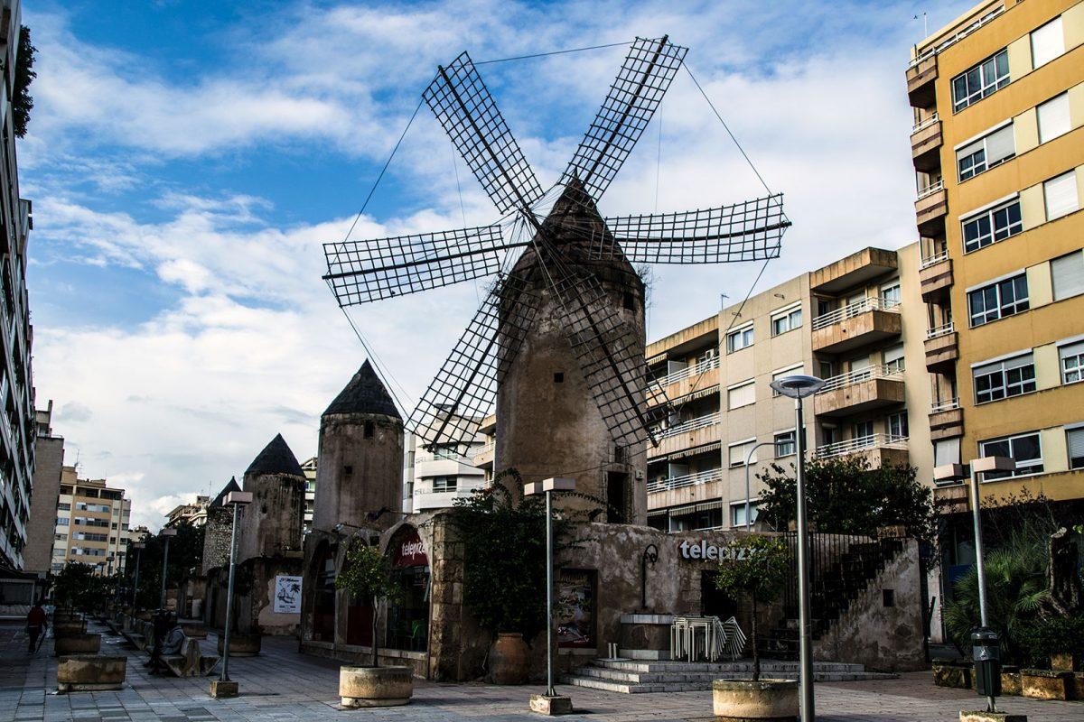 Molinos Telepizza - qué ver en Mallorca