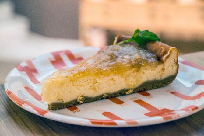 Tarta de queso restaurante Es Rebost - Restaurantes Mallorca