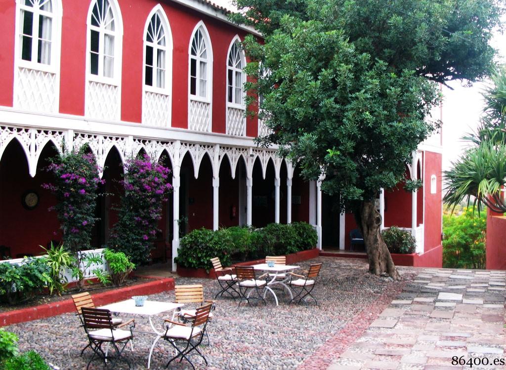 Entrada al Hotel Rural Las Longueras